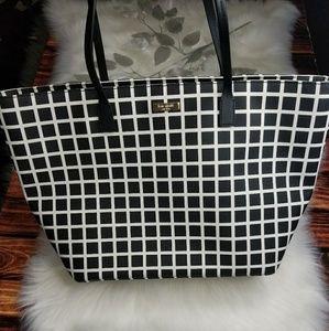 💥NEW💥 Kate Spade Large Stripe Tote Bag